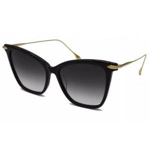 Dita Fearless DRX-3038 A-T-BLK-GLD 18K Gold Cateye